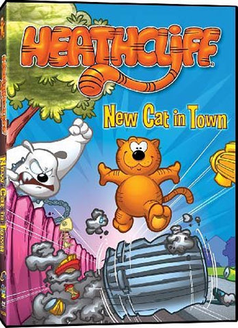 Heathcliff - New Cat in Town DVD Movie