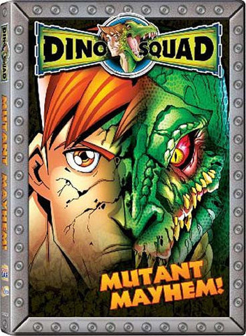 Dino Squad - Mutant Mayhem DVD Movie