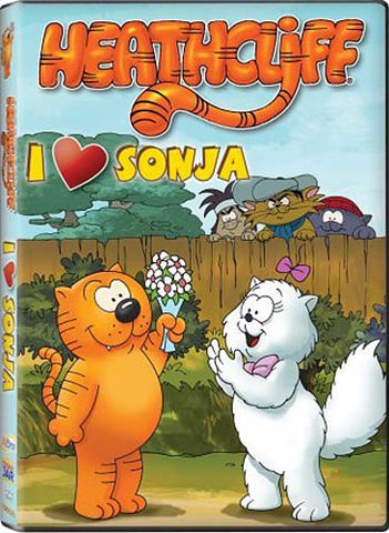 Heathcliff - I Heart (Love) Sonja DVD Movie