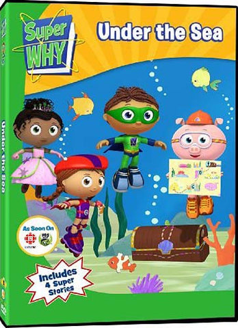 Super Why - Under the Sea DVD Movie