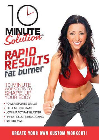 10 Minute Solution - Rapid Results Fat Burner DVD Movie