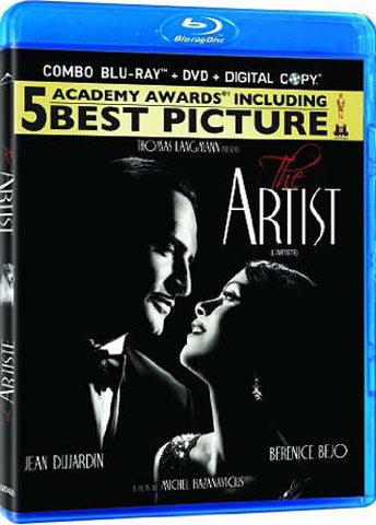 The Artist (Blu-ray/DVD + Digital Copy Combo) (Blu-ray) BLU-RAY Movie
