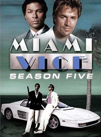 Miami Vice - Season Five (5) (Boxset) DVD Movie