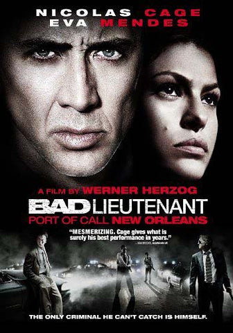 Bad Lieutenant - Port of Call New Orleans DVD Movie