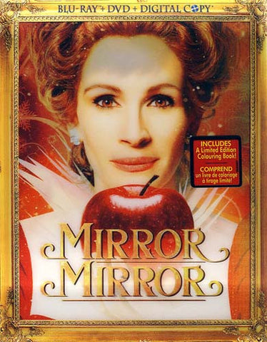Mirror Mirror (Blu-ray/DVD/Digital Copy) (Blu-ray) (Bilingual) (Slipcover) BLU-RAY Movie