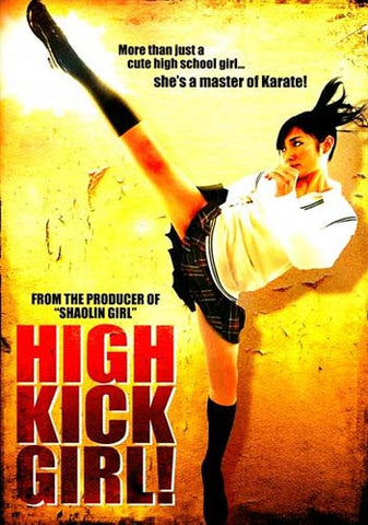 High Kick Girl DVD Movie