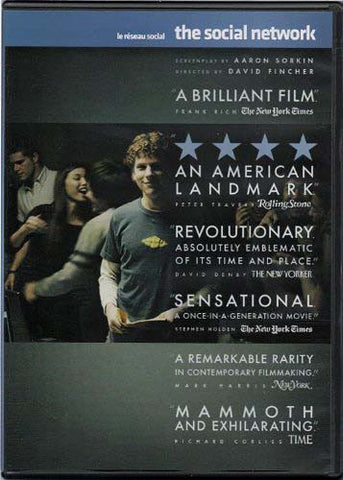 The Social Network - Rental Version (Bilingual) DVD Movie