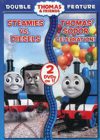 Thomas and Friends - Steamies vs Diesels / Thomas' Sodor Celebration (Double Feature) DVD Movie