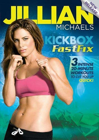 Jillian Michaels - Kickbox FastFix DVD Movie