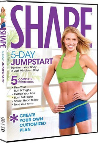 Shape 5 Day Jumpstart DVD Movie