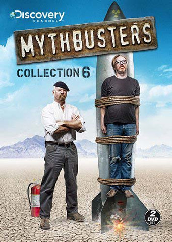 Mythbusters - Collection 6 DVD Movie
