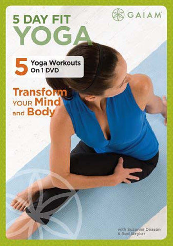 5 Day Fit Yoga DVD Movie