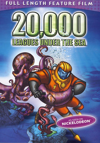 20,000 Leagues Under the Sea DVD Movie