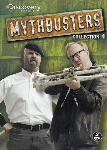 Mythbusters - Collection 4 DVD Movie