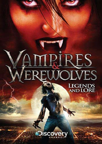 Vampires & Werewolves: Legends And Lore DVD Movie