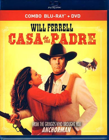 Casa de Mi Padre (Combo Blu-ray +DVD) (Bilingual) (Blu-ray) BLU-RAY Movie