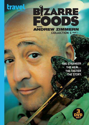Bizarre Foods Collection 5 Part 1 (DVD) DVD Movie