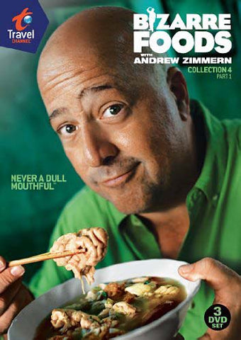 Bizarre Foods With Andrew Zimmern - Coll 4 Pt.1 DVD Movie