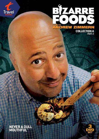 Bizarre Foods With Andrew Zimmern: Coll 4 Pt.2 DVD Movie