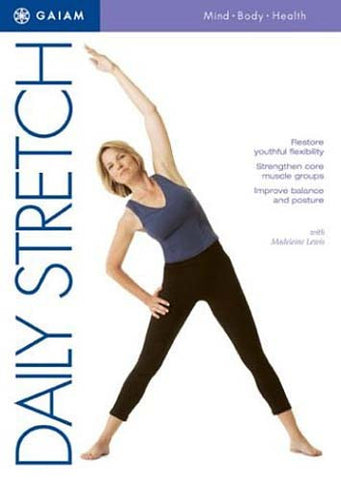 Daily Stretch DVD Movie