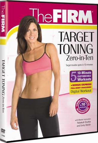 Firm: Target Toning - Zero in Ten DVD Movie