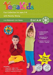 Yoga Kids - Fun Collection Gaiam Kids (Boxset)