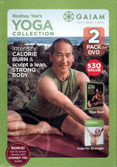 Rodney Yee's (2 Pack) DVD Yoga Collection Includes Yoga Burn & Strenght Building Yoga