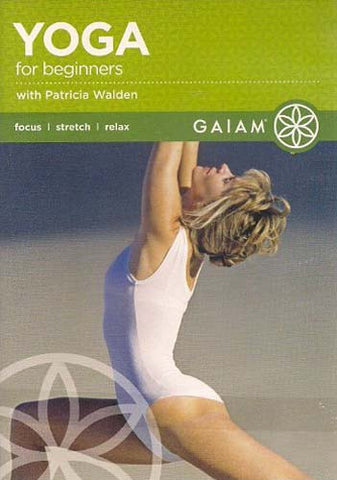 Yoga For Beginners with Patricia Walden DVD Movie
