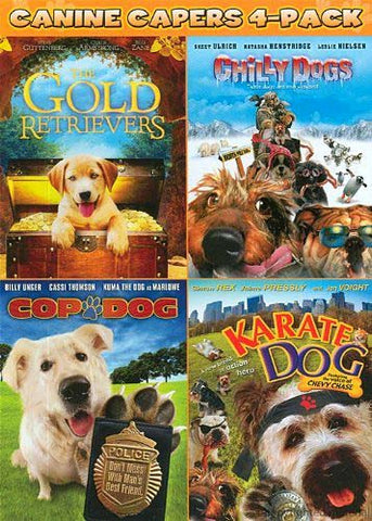 Gold Retrievers/Chilly Dogs/Cop Dog/Karate Dog DVD Movie