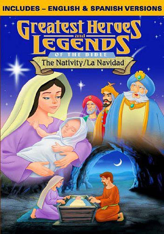 Greatest Heroes & Legends of the Bible-Nativity DVD Movie