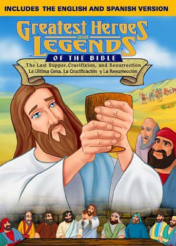 Greatest Heroes & Legends: The Last Supper, Crucifixion And Resurrection- English/Spanish Combo DVD DVD Movie