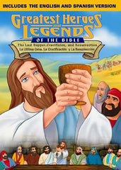 Greatest Heroes & Legends: The Last Supper, Crucifixion And Resurrection- English/Spanish Combo DVD