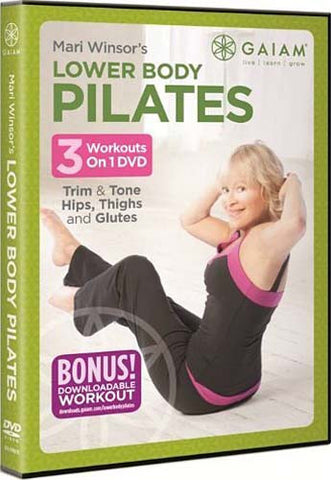 Lower Body Pilates - Mari Windsor DVD Movie