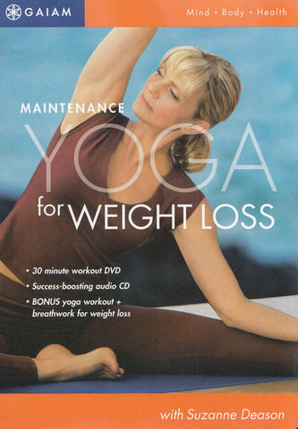 Maintenance Yoga for Weight Loss DVD Movie