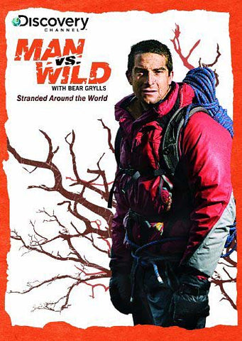 Man vs Wild - Stranded Around the World DVD Movie