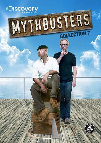 Mythbusters Collection 7 DVD Movie