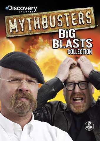 Mythbusters - Big Blasts Collection DVD Movie