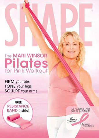Shape - The Mari Winsor Pilates for Pink Workout DVD Movie