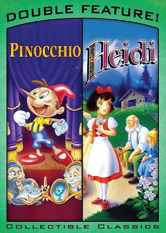 Pinocchio & Heidi DVD Movie