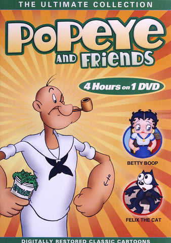 Popeye and Friends - The Ultimate Collection DVD Movie