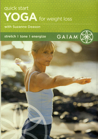 Quick Start Yoga for Weight Loss (DVD plus audio CD) (Suzanne Deason) DVD Movie