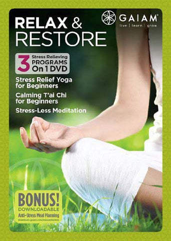 Relax and Restore DVD Movie