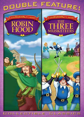 Robin Hood & The Three Musketeers (Double Feature) DVD Movie