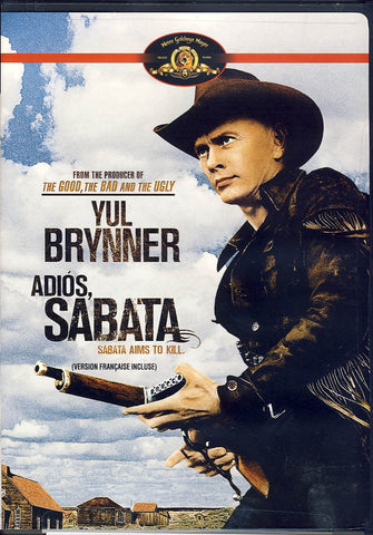 Adios, Sabata (MGM) (Bilingual) DVD Movie