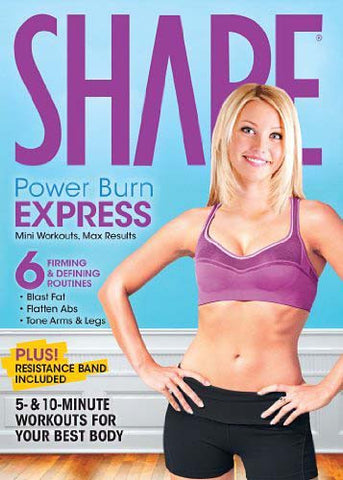 Shape - Power Burn Express DVD Movie