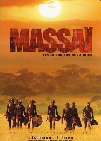 Massai - Les guerriers de la pluie DVD Movie