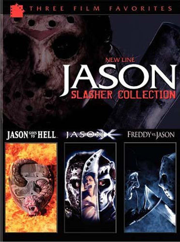 Jason Slasher Collection (New Line Three Film Favorites) (Boxset) DVD Movie