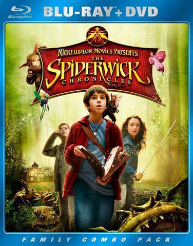 Spiderwick Chronicles (Two-Disc Blu-ray/DVD Combo) (Blu-ray) BLU-RAY Movie
