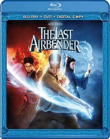 The Last Airbender (Two-Disc Blu-ray/DVD Combo + Digital Copy) (Blu-ray) BLU-RAY Movie