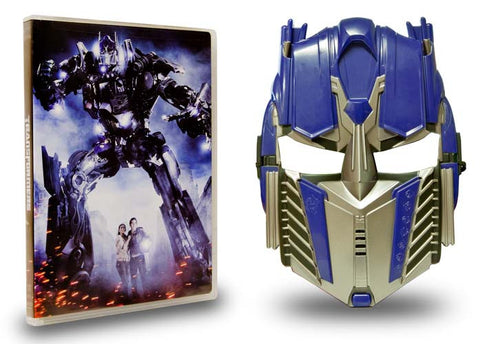 Transformers - w/ Bonus Optimus Prime Mask (Boxset) DVD Movie